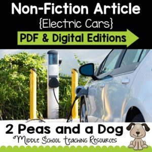 Electric Cars Non-Fiction Article