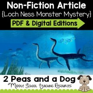 The Mystery of the Loch Ness Monster Non-Fiction Article