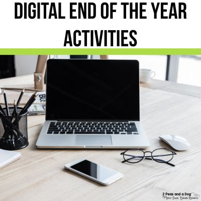 Digital end of the year activites for middle school classes.