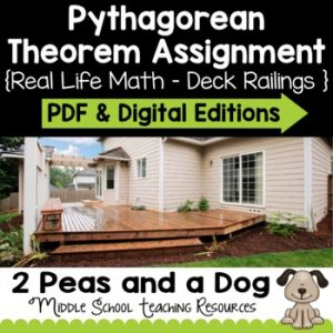 Pythagorean Theorem Assignment | Distance Learning