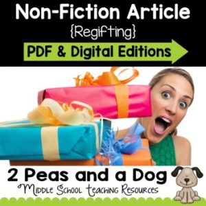 Regifting Non-Fiction Article