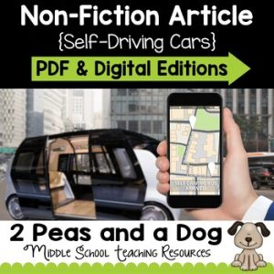 Self-Driving Cars Non-Fiction Article