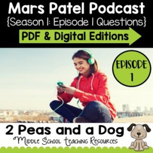 Mars Patel Podcast Season 1: Episode 01 Questions