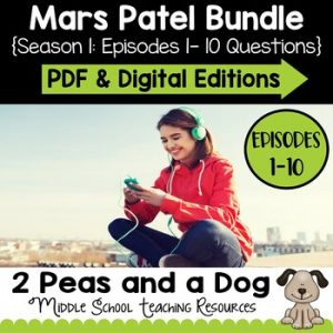 Mars Patel Podcast Season 1 Questions Bundle
