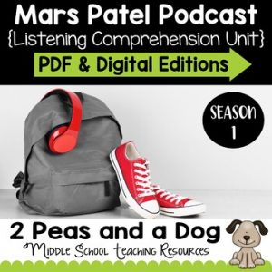 Mars Patel Podcast Unit Season 1 | Distance Learning