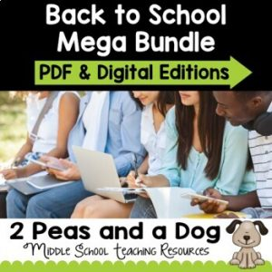 Back to School Mega Bundle | Distance Learning