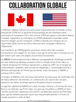 Grade 6 Social Studies Canada's Interaction With The Global Community FRENCH