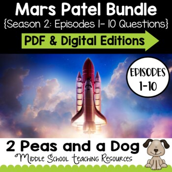 Mars Patel Podcast Season 2 Unit Bundle | Distance Learning