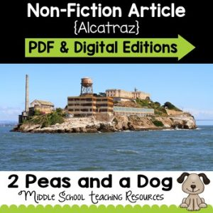 Alcatraz Non-Fiction Article