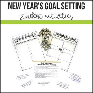 New Year's Goal Setting Activities