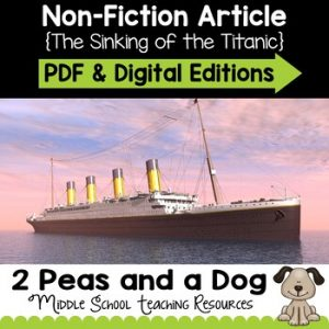 The Titanic Non-Fiction Article