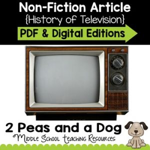 The History of Television Non-Fiction Article