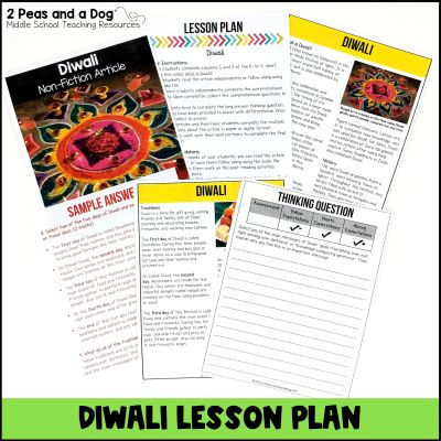 Use this middle school Diwali lesson to help your students learn more about the celebration in an engaging and informative way.