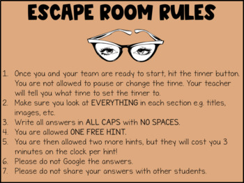 Halloween Digital Escape Room   Distance Learning
