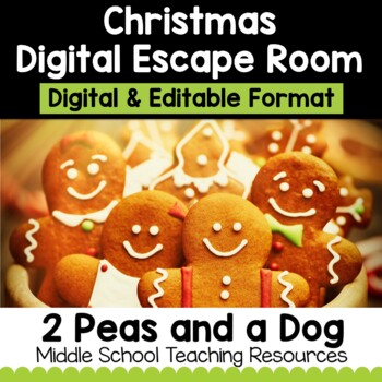 Christmas Digital Escape Room | Distance Learning