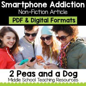 Smartphone Addiction Non-Fiction Article