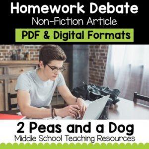 The Homework Debate Non-Fiction Article