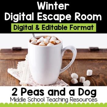 Winter Digital Escape Room | Distance Learning