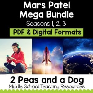 Mars Patel Mega Bundle Seasons 1 - 3 | Distance Learning