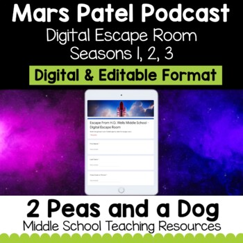 Mars Patel Podcast Digital Escape Room | Distance Learning