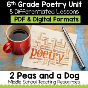 6th Grade Poetry Unit