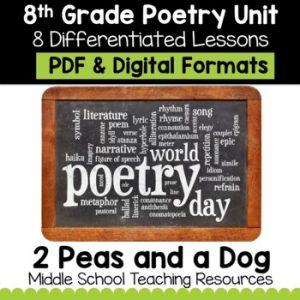 8th Grade Poetry Unit