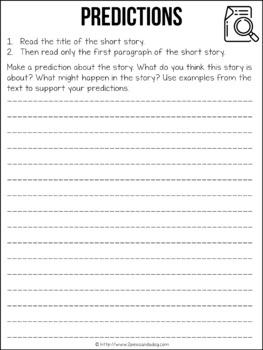 Names-Nombres Short Story Lesson