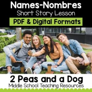 Names-Nombres Short Story Lesson