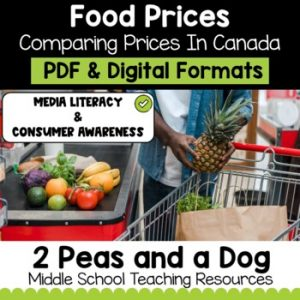 Media Literacy: Consumer Awareness Lesson - Food Prices in Northern Canada