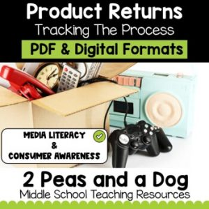 Media Literacy: Consumer Awareness Lesson - Product Returns