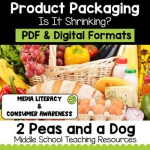 Media Literacy: Consumer Awareness Lesson - Shrinking Products