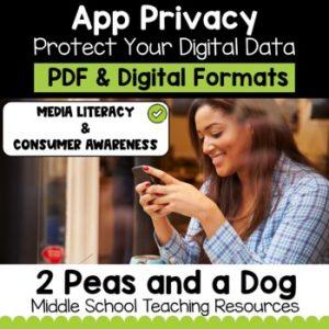 Media Literacy: Consumer Awareness Lesson - Smartphone App Privacy