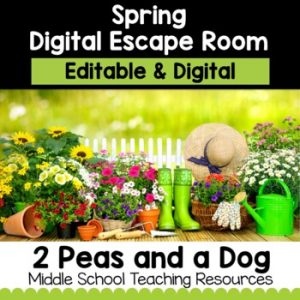 Spring Digital Escape Room | Distance Learning