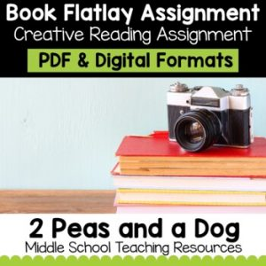 Book Flatlay Project | Distance Learning