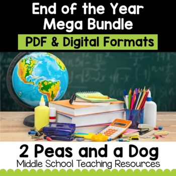End of the Year Mega Bundle   Distance Learning