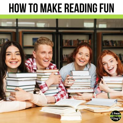 Making reading fun is an important part of lesson planning. Learn how to achieve this important skill for your lessons.