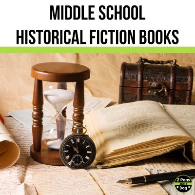Students enjoy learning about the past with middle school historical fiction books. Use this book list to hep students find their next great read.