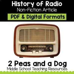 The History of Radio Non-Fiction Article | Distance Learning