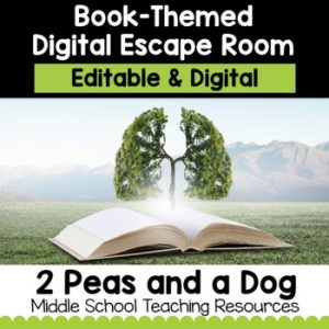Book Themed Digital Escape Room | Distance Learning