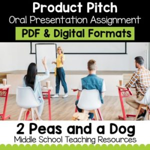 Persuasive Pitch Assignment   Distance Learning