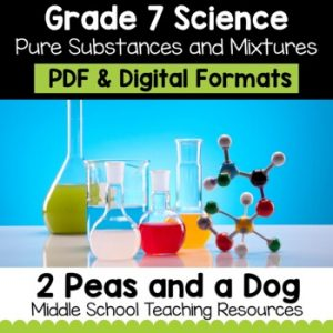 Grade 7 Science Pure Substances and Mixtures | Distance Learning