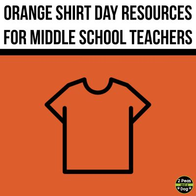 September 30 is known as Orange Shirt Day. This day is for raising awareness about the true history of residential schools in Canada. This blog post contains information about resources for Orange Shirt Day that can be used with grade 7 and 8 students.