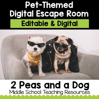 Pet-Themed Digital Escape Room   Distance Learning