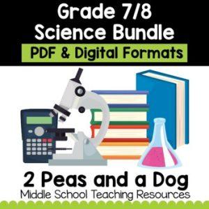 Grade 7/8 Science Unit Bundle